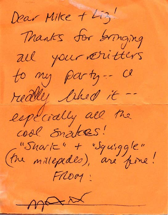 Testimonials july 2003 thank you letter from maxs birthday party thecheapjerseys Image collections